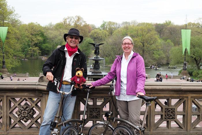 Mit den BROMPTON im Central Park