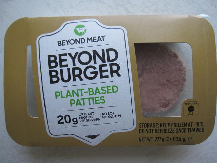 Beyond Meat Burger - Doppelpack mit 2 Patties