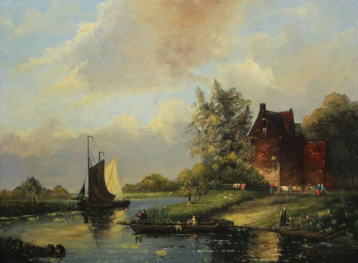 te_koop_aangeboden_een_schilderij_van_arend_van_de_pol_1886-1956