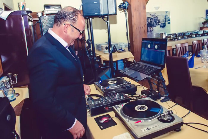 DJ Nico Kreye in Lübeck - Technical support