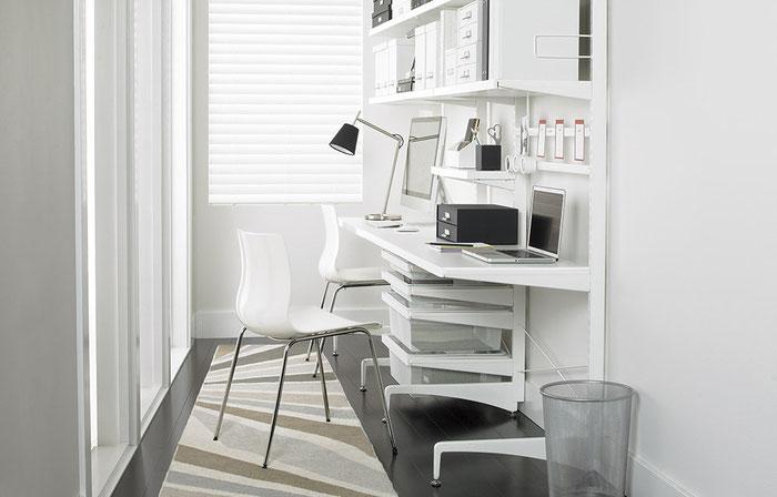 Freistehendes Regalsystem für Arbeitszimmer