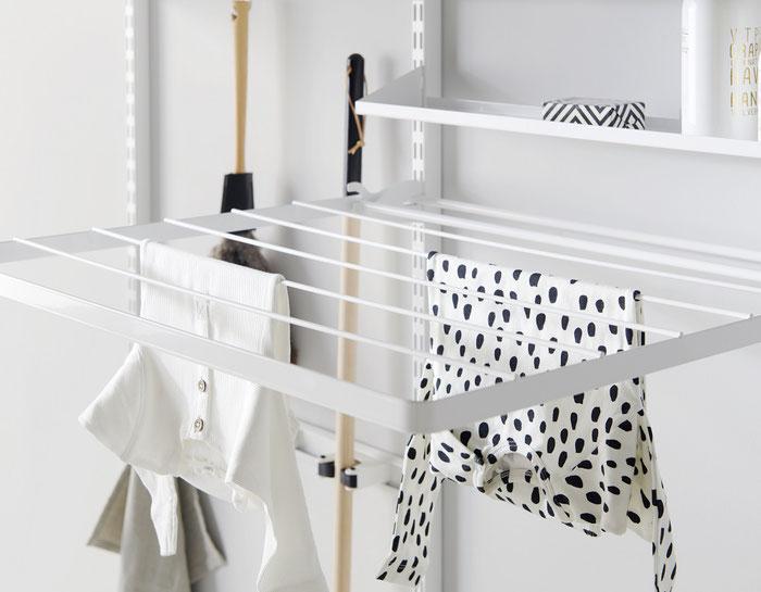 Trocknungsgitter zum Abklappen für Waschküche oder Hauswirtschaftsraum