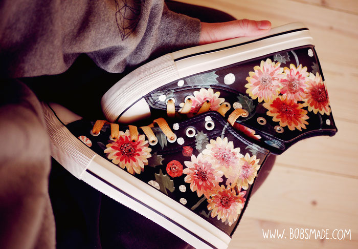 dahlia Custom shoes