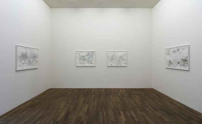 Palimpsest . 2017 . Ausstellungsansicht Galerie der Kunststiftung des Landes Sachsen-Anhalt