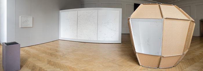 Collectio Mapparum – Eine mentale Kartierung . 2014 . Ausstellungsansicht