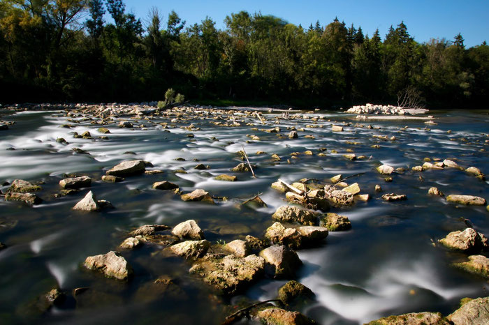 The Isar river in Munich, Germany. Danica Dudes Flyfishing, Fliegenfischen, Angeln, Natur