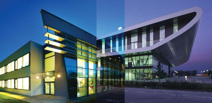 Eisenstadt和Pinkafeld校区的混合图片