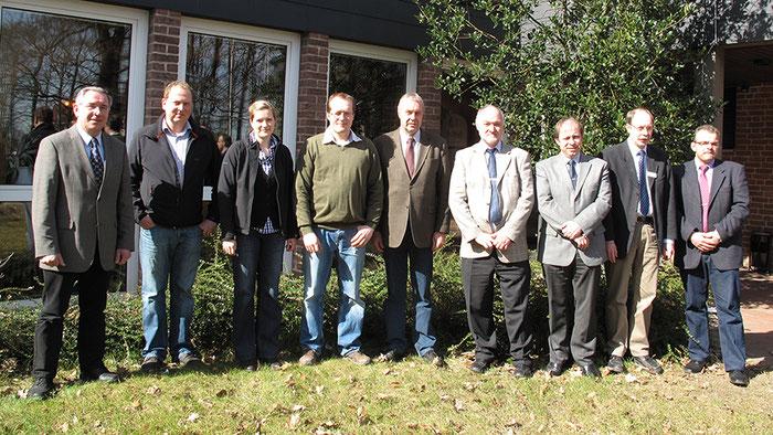 Schutzgemeinschaft bestehend aus Vorstands- und Beratsmitgliedern, Foto: Marketinggesellschaft