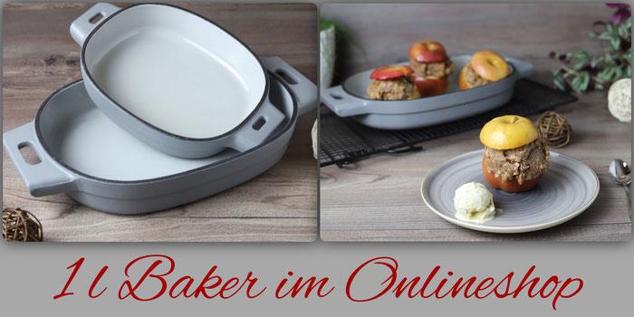 Emaillierter gusseiserner Baker mit 1 Liter von Pampered Chef online kaufen