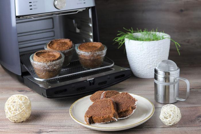 Pampered Chef Air Fryer im Onlineshop kaufen Muffins aus den kleinen Elfen