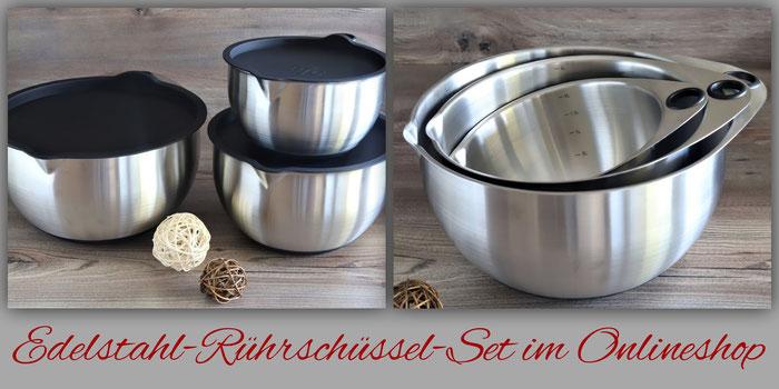 Pampered Chef Edelstahl-Rührschüsseln im Set online bestellen