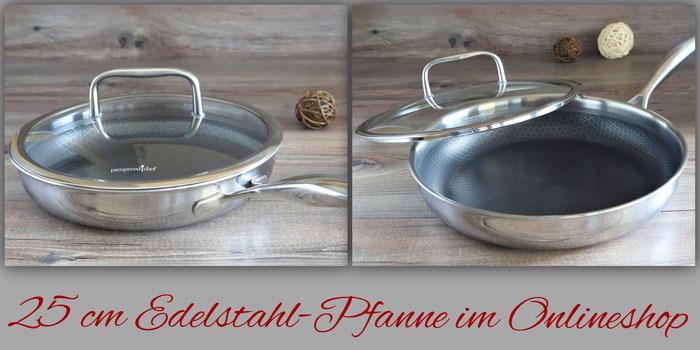 25 cm Edelstahl Pfanne von Pampered Chef online bestellen