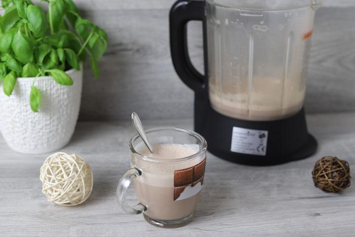 Heiße Milch mit Schokolade Hot chocolate heiße Schokolade im Blender von Pampered Chef aus dem Onlineshop bestellen