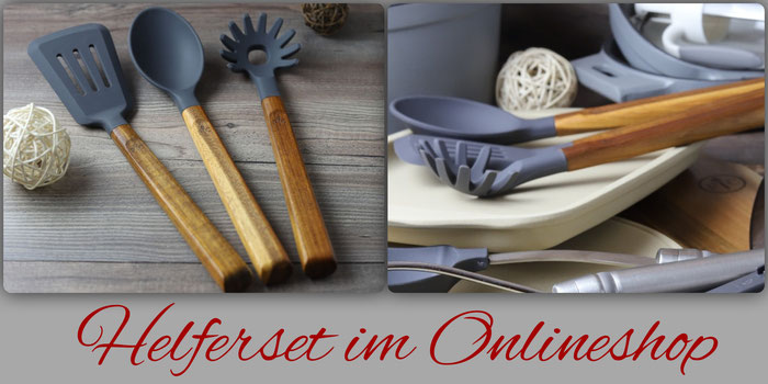 Helferset aus Akazienholz von Pampered Chef im Onlineshop kaufen