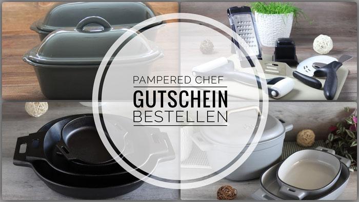 Pampered Chef Gutschein bestellen