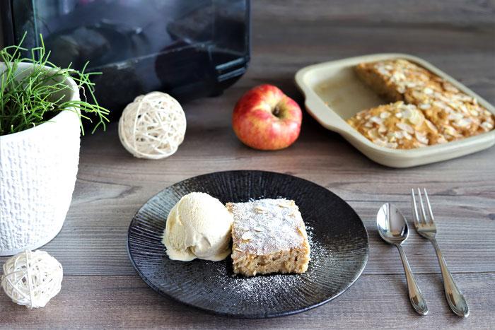 Pampered Chef Air Fryer im Onlineshop kaufen - Apfelkuchen backen