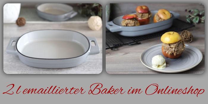 2 Liter emaillierter gusseiserner Baker von Pampered Chef im Onlineshop bestellen