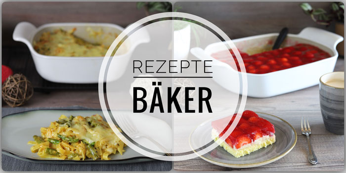 Rezepte für flacher Bäker, großer Bäker, kleiner Bäker, Bäker-Weiß aus dem Pampered Chef Onlineshop
