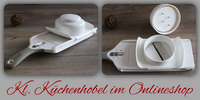 Kleiner Küchenhobel mit Edelstahl Rührschüssel von Pampered Chef