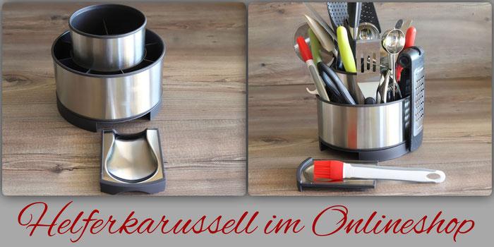 Edelstahl Helferkarussell von Pampered Chef online im Onlineshop kaufen