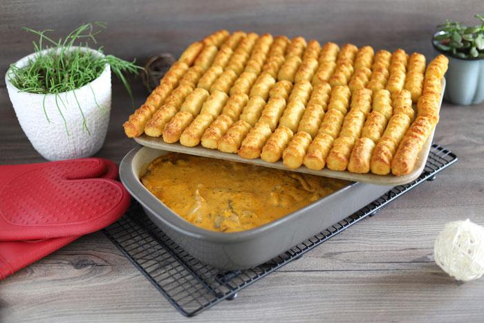 Grundset von Pampered Chef mit Ofenhexe und Zauberstein aus dem Onlineshop bestellen