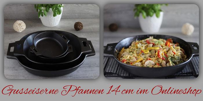 14 cm gusseiserne Pfannen von Pampered Chef im Onlineshop bestellen