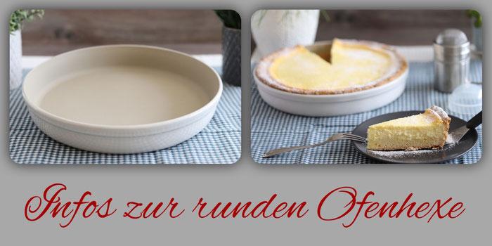 Runde Ofenhexe und andere Stoneware von Pampered Chef im Onlineshop bestellen