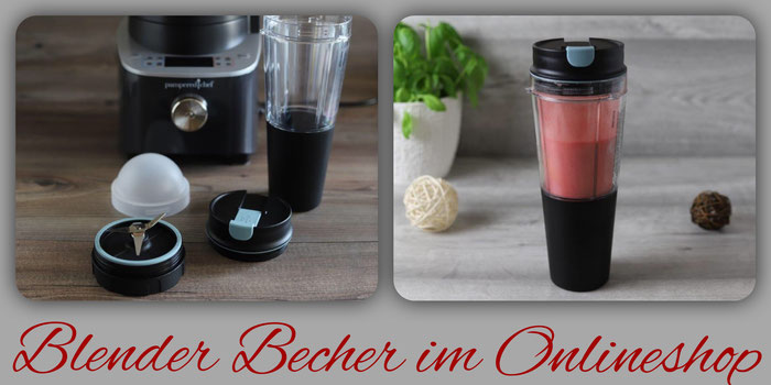 Becher und Adapter Set vom Pampered Chef Deluxe Blender online kaufen