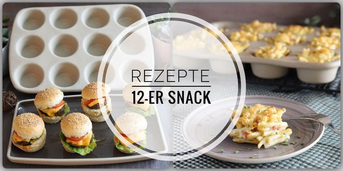 Rezepte für die Muffinform 12-er Snack von Pampered Chef