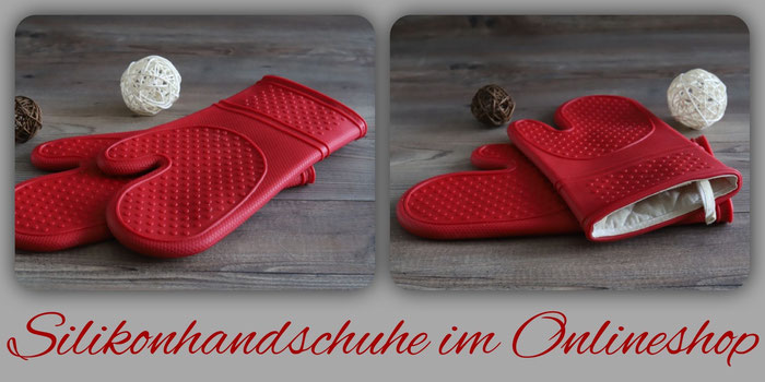 Pampered Chef Packs an Silikonhandschuhe im Onlineshop