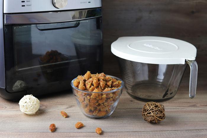Pampered Chef Air Fryer im Onlineshop kaufen - gebrannte Mandeln