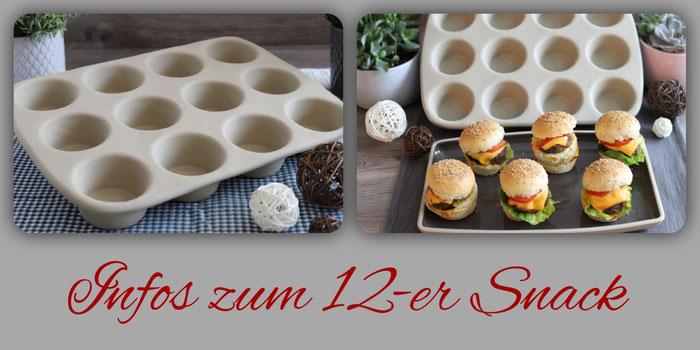 12-er Snack von Pampered Chef im Onlineshop bestellen