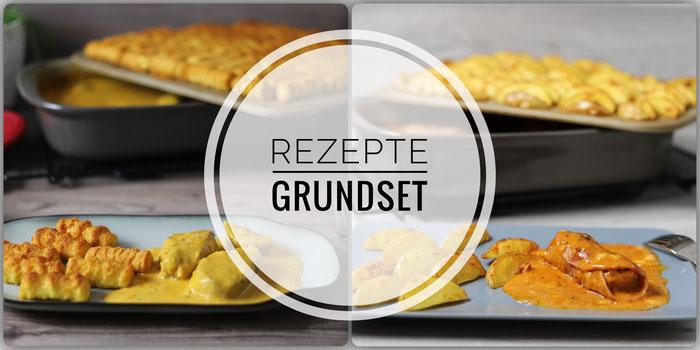 Rezepte zum Grundset, Ofenhexe und Zauberstein von Pampered Chef, all in one Backofengerichte im Pampered Chef Onlineshop