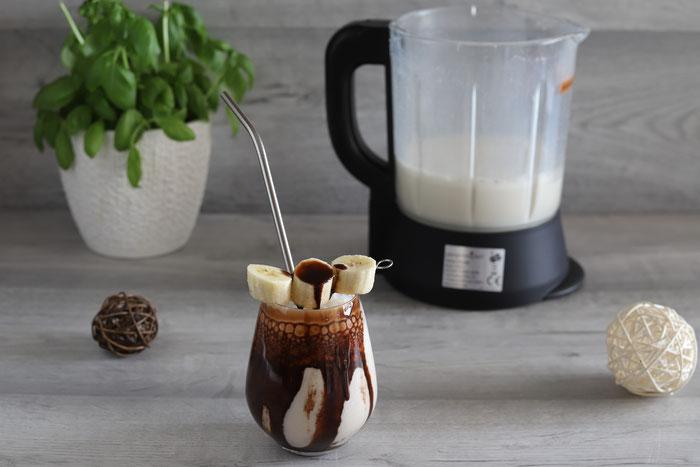 Bananarama Bananen-Schoko-Milchshake aus dem Blender von Pampered Chef®