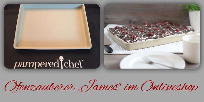 Ofenzauberer James Stoneware von Pampered Chef im Onlineshop online bestellen