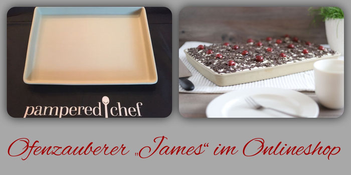 Ofenzauberer plus James von Pampered Chef im Onlineshop bestellen