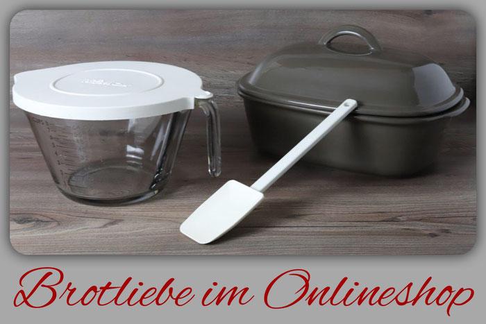 Set Brotliebe mit großer Ofenmeister, große 2 Liter Nixe und mittlerer Mix´n Scraper Schaber aus dem Pampered Chef Onlineshop