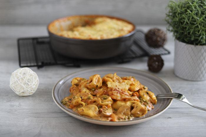 Rezept für die Stoneware rund Ofentortellini im Pampered Chef Onlineshop bestellen