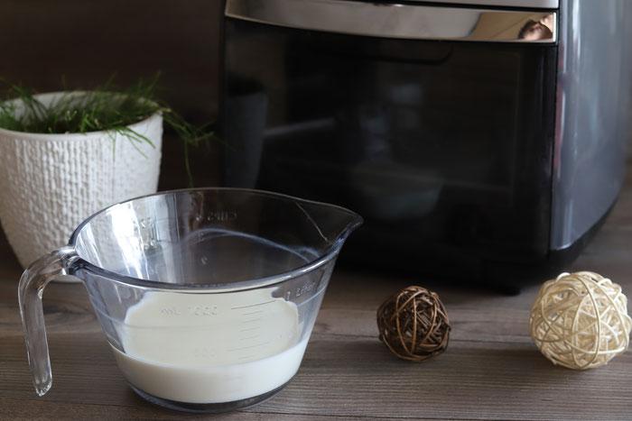 Pampered Chef Air Fryer im Onlineshop kaufen - Milch erhitzen