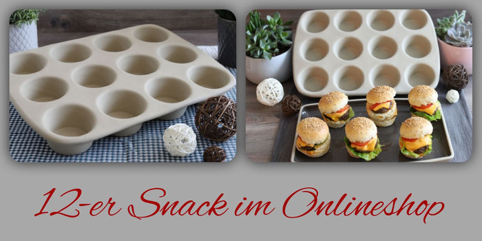 12er Snack Muffinform von Pampered Chef im Onlineshop bestellen
