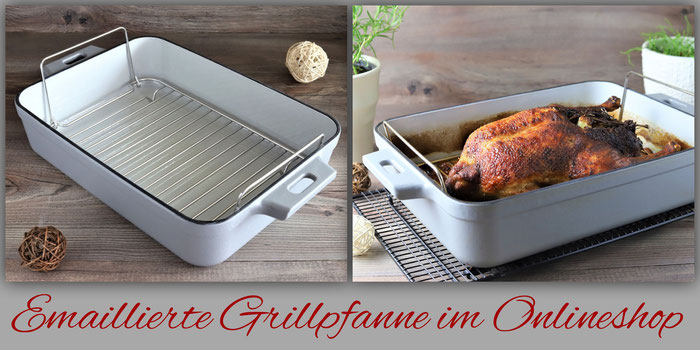 Emaillierte gusseiserne Grillpfanne im Pampered Chef Onlineshop kaufen