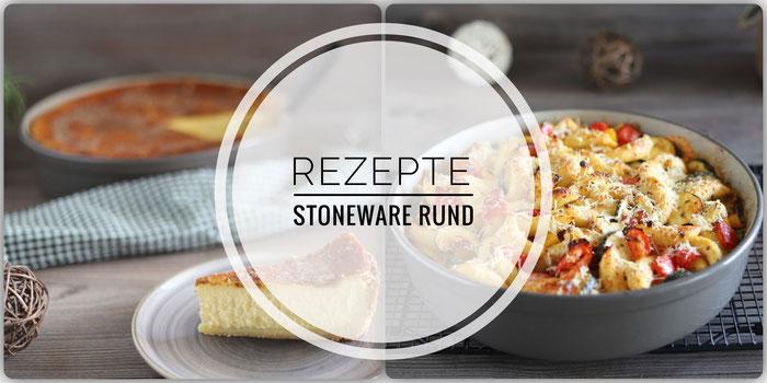 Rezepte für die Stoneware rund von Pampered Chef