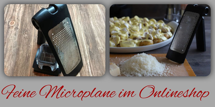 Feine Microplane Reibe von Pampered Chef online bestellen