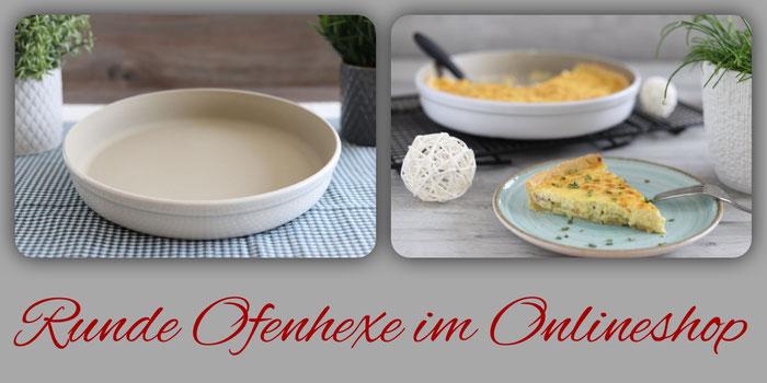 Runde Ofenhexe oder Stoneware rund von Pampered Chef im Onlineshop bestellen