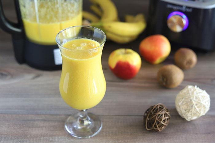 Smoothie mit Banane und Mango aus dem Deluxe Blender von Pampered Chef im Onlineshop bestellen