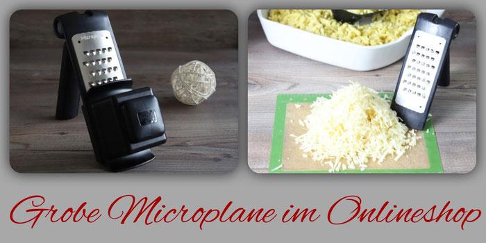 Grobe Microplane Reibe und große Ofenhexe von Pampered Chef online bestellen