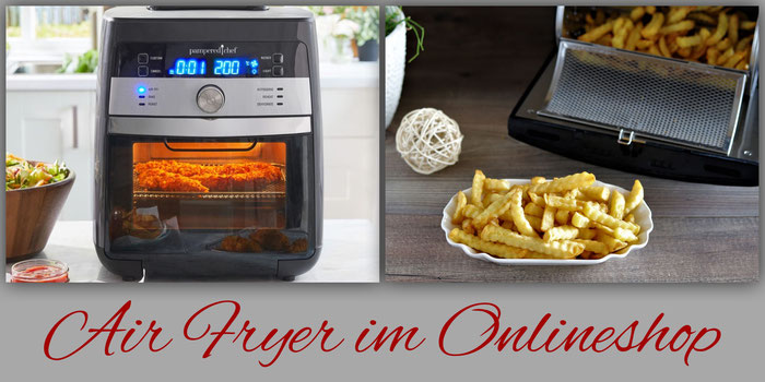 Airfryer von Pampered Chef im Onlineshop bestellen