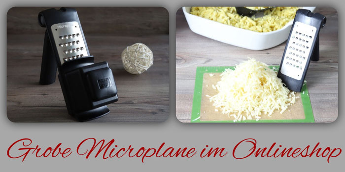 Microplane grobe Reibe aus dem Pampered Chef Onlineshop