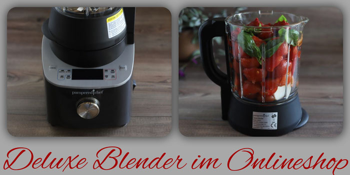 Deluxe Blender von Pampered Chef im Onlineshop bestellen