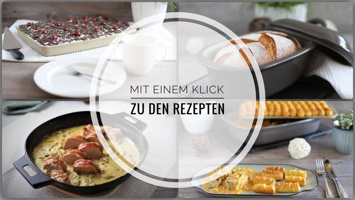 Rezepte für Zauberstein, Ofenhexe, Ofenmeister, Zaubermeister, Ofenzauberer und Rockcrok von Pampered Chef